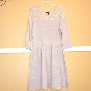 Jessica Simpson Light Tan Lace Dress Size XL